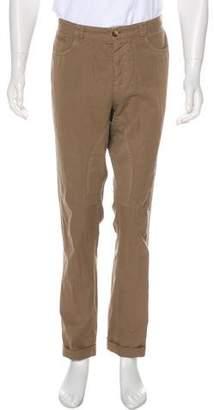 Brunello Cucinelli Cuffed Twill Pants