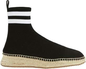 Alexander Wang Dylan Sock Knit Espadrille Sneakerboots