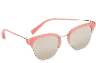 Elizabeth and James Burke Flash Sunglasses $225 thestylecure.com
