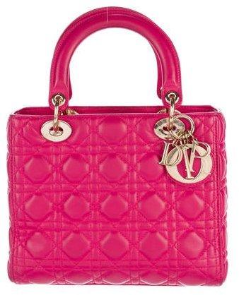 Christian Dior Christian Dior 2015 Medium Lady Dior Bag