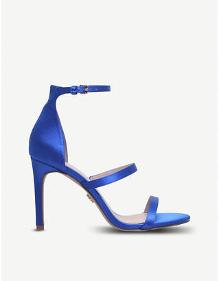 Kurt Geiger London Park Lane satin heeled sandals