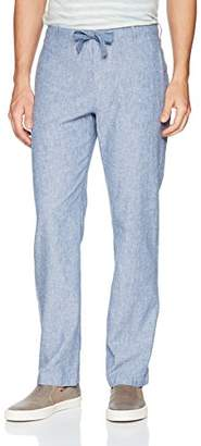 Perry Ellis Men's Linen Cotton Drawstring Pant