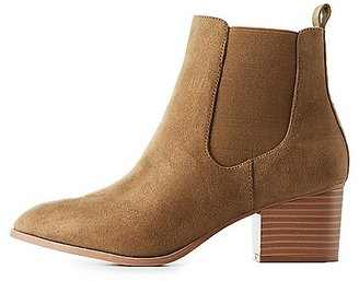 Pointed Toe Ankle Booties $38.99 thestylecure.com