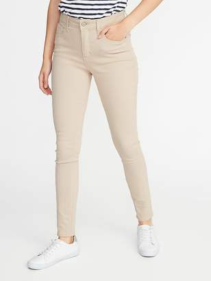 Old Navy High-Rise Secret-Slim Pockets Pop-Color Rockstar Super Skinny Jeans for Women