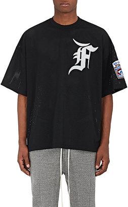 "FEAR OF GOD Men's ""Big League Baseball"" Athletic Mesh T-Shirt $595 thestylecure.com"
