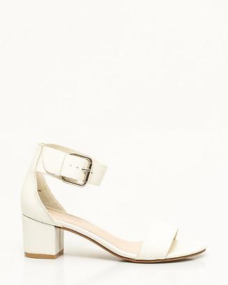 Le Château Leather-Like Ankle Strap Sandal