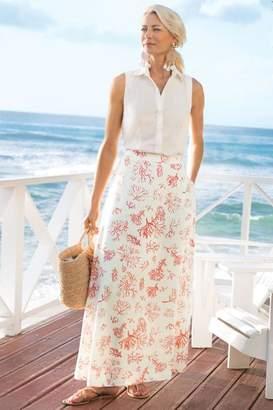Soft Surroundings Maldives Maxi Skirt