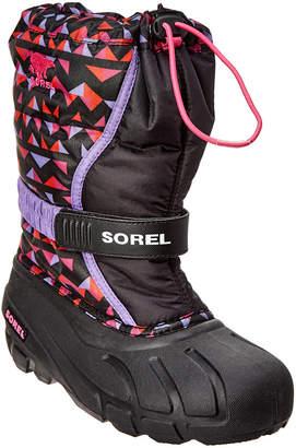 Sorel Youth Flurry Print Boot
