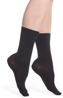 Nordstrom 3-Pack Opaque Ankle Socks