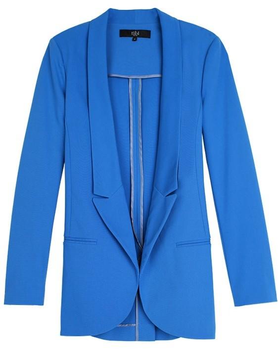 Tibi Maverick Suiting Easy Blazer