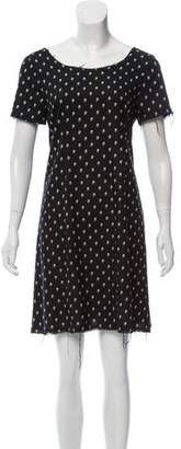 R 13 Printed Mini Dress
