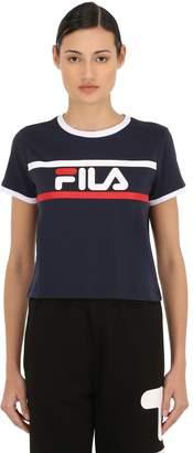 6372ea18784 Fila Urban Ashley Logo Cotton Cropped T-shirt