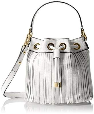 Milly Women's Essex Fringe Small Drawstring Cross Body Handbag
