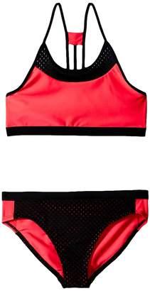 Under Armour Kids UA Racer Two-Piece Bikini Girl's Swimwear Sets