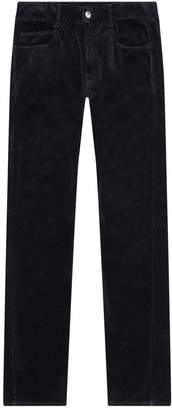 McQ Velvet Straight Trousers