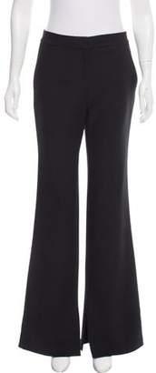 Tibi Mid-Rise Wide-Leg Pants