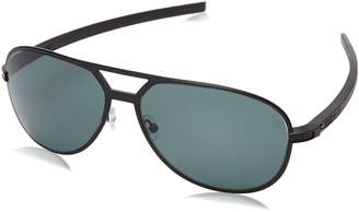 Tag Heuer Sunglasses 0986 Senna Racing 305 Black Green Precision Polarized