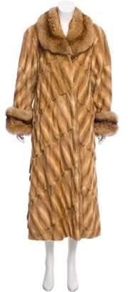 Fendi Vintage Mink Fur Coat