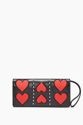 Rebecca Minkoff Continental Snap Wallet With Wristlet