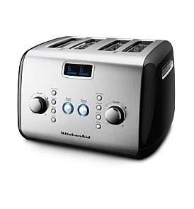 KitchenAid Kmt423 4 Slice Black Toaster