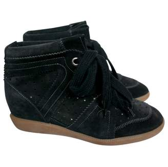 Isabel Marant Bobby Black Suede Trainers