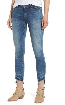 Women's Blanknyc Step Hem Skinny Jeans $98 thestylecure.com