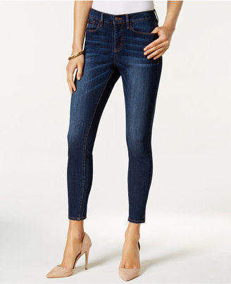 Buffalo David Bitton Faith Crop Skinny Jeans $79 thestylecure.com