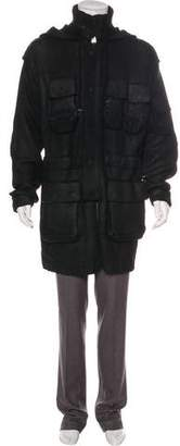 Alexander McQueen Wool Hooded Jacket