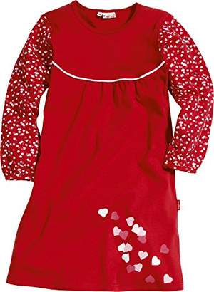 Playshoes Girl's Hearts Nighties,(Manufacturer Size:3-/104 cm)