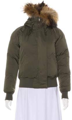 40989ddc1a5 Fur-lined Down Jacket - ShopStyle