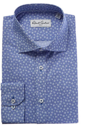 Robert Graham Flap Modern Fit Dress Shirt