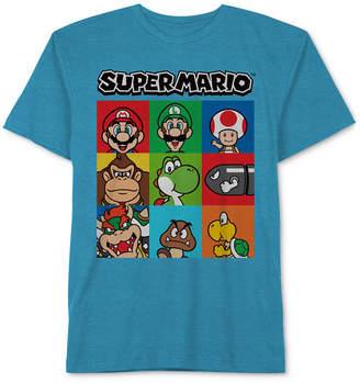 Nintendo Super Mario Graphic-Print T-Shirt, Big Boys