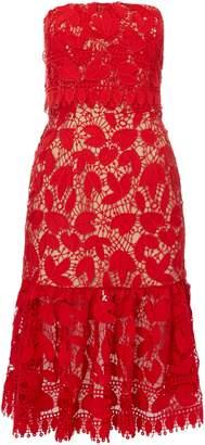Jarlo Sleeveless midi dress