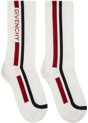 Givenchy Off-White Moto Biker Socks
