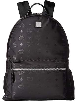 MCM Dieter Monogrammed Nylon Medium Backpack Backpack Bags
