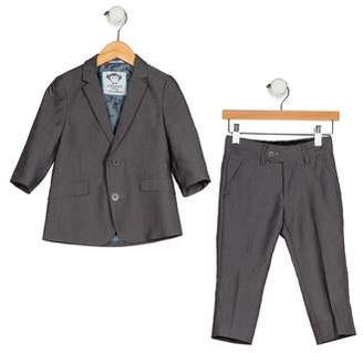 Appaman Fine Tailoring Boys' Notch-Lapels Tailored Suit