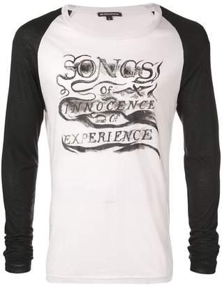 Ann Demeulemeester Songs T-shirt