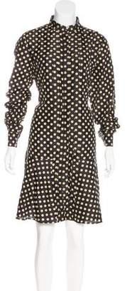Belstaff Printed Button-Up Dress
