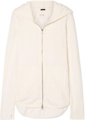 ATM Anthony Thomas Melillo French Cotton-terry Hoodie - Cream
