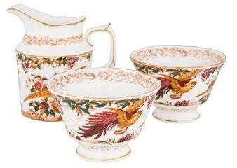 Royal Crown Derby 3-Piece Old Avesbury Coffee Serveware Set