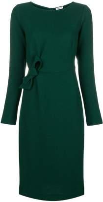 P.A.R.O.S.H. knotted detail waist dress