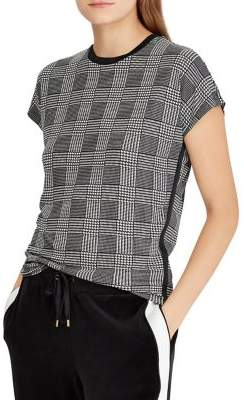 Lauren Ralph Lauren Petite Petite Plaid Jersey T-Shirt