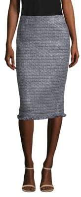 Lafayette 148 New York Tweed Pencil Skirt