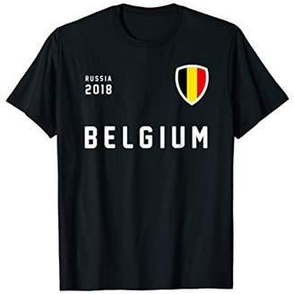Belgium football soccer t-shirt jersey crest | Russia | 2018