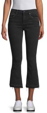 Driftwood Rox Wide-Leg Cropped Jeans