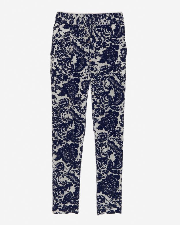 Intermix Exclusive For Silk Paisley Print Pant