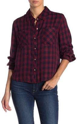 C & C California Buffalo Plaid Button Down Shirt