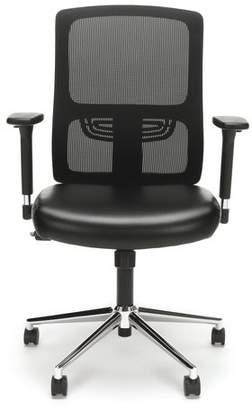 Symple Stuff Ergonomic Mesh Office Chair Color : Chrome