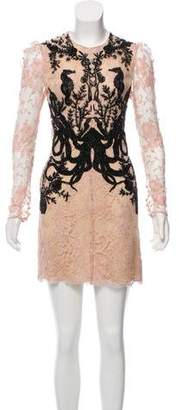 Alexander McQueen Beaded Lace Dress w/ Tags