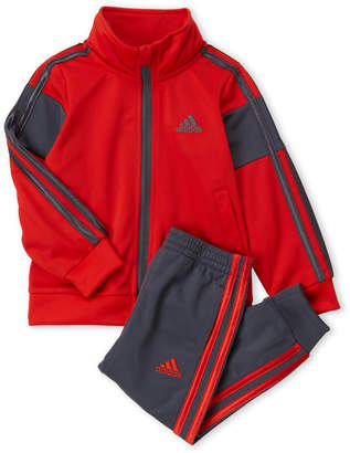 adidas Toddler Boys) Two-Piece Anthem Tricot Track Suit Set
